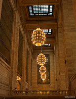 Grand Chandeliers at Grand Central