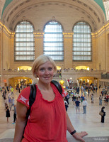 Rachel in Grand Central Station